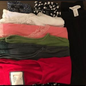 Lot Of 8 XS Tank Top And Skirt